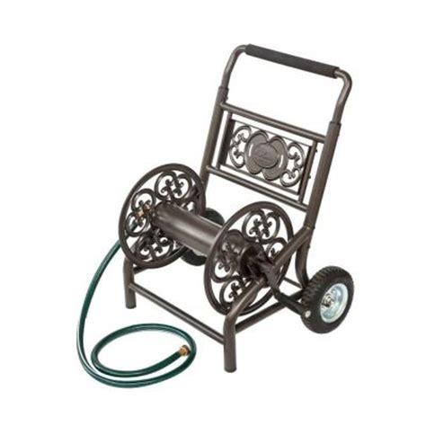 liberty garden 2 wheel decorative hose cart 301 the home