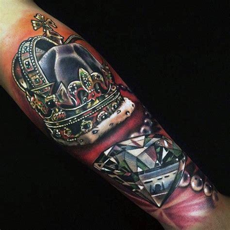 desain tato berlian  pria tinta batu berharga