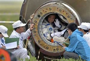 China astronauts return from monthlong space station stay