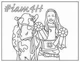 National Week sketch template