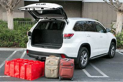 Highlander Toyota Cargo Space Cars Trunk Itemprop
