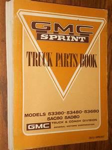 Buy 1971  Gmc Sprint  El Camino   Parts Book