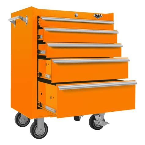 rolling storage cabinet with drawers viper tool storage 26 inch 5 drawer 18g steel rolling