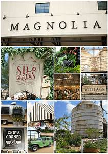 The Silos at Magnolia Market - Waco, TX - Happiness is