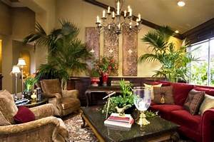 Tropical living room design and decoration concepts for Tropical interior design living room