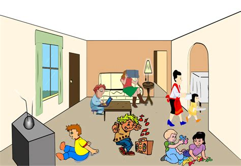 Living Room Clipart Living Room Free Images At Clker Vector Clip
