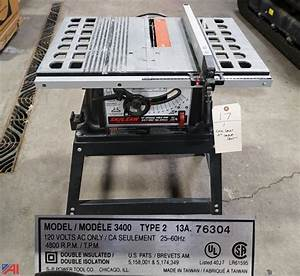 Skil 10 Table Saw With Stand