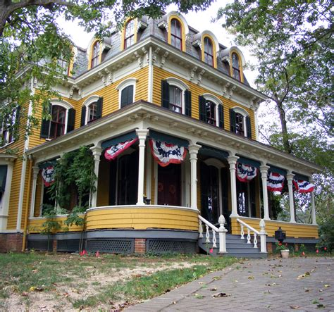 house with wrap around porch file freehold nj george house jpg wikimedia commons