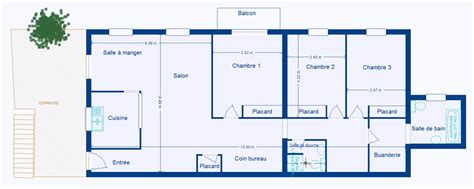 location appartement 3 chambres plan appartement 4 chambres