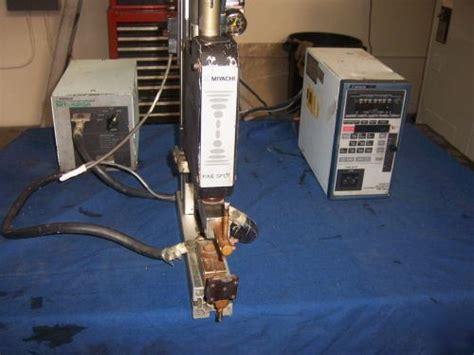 miyachi unitek fine spot programmable mini spot welder