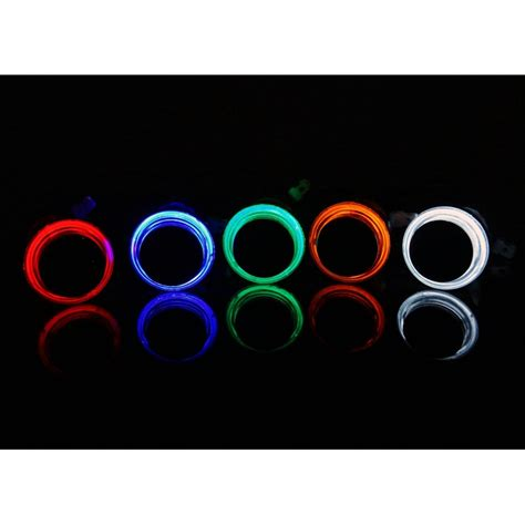 glow eclipse led arcade buttons microswitch mm