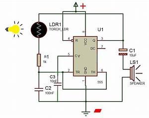 Screaming Siren Circuit Diagram With Ldr