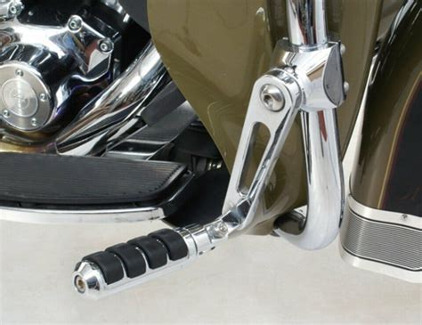 chrome motorcycle isolation pegs rivco