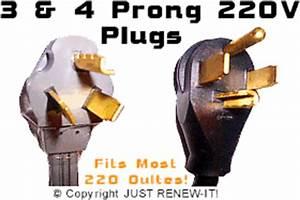Basic 220 3 Prong Wiring