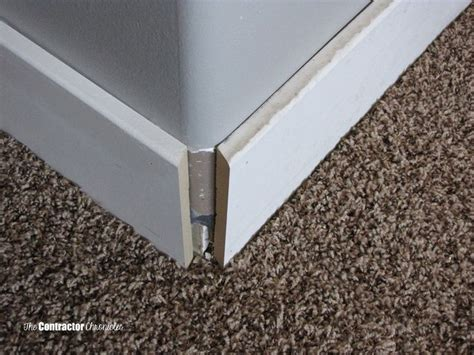 How To Cut Baseboard For A Rounded Corner