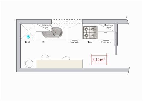 plan de travail cuisine 4m conseils d 39 architecte 4 plans de cuisine en i