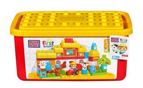 Mega Bloks First Builders Farm Tub Ebay