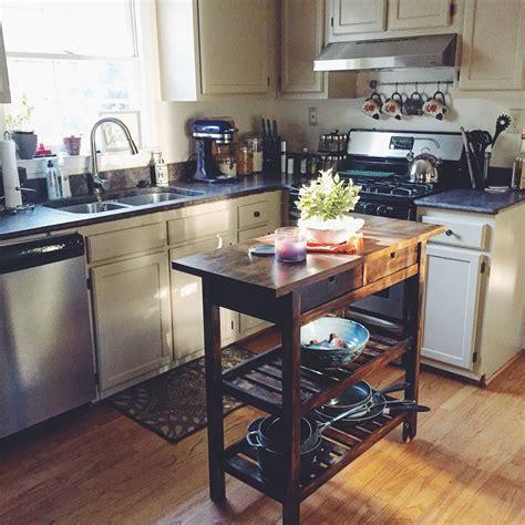 kitchen island cart ikea f 214 rh 214 ja kitchen cart ikea hack diy stain project