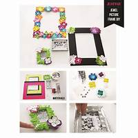 how to make picture frames Put A Jewel On It: DIY Your Own Picture Frames | The Style ...