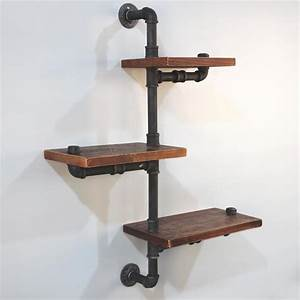 Industrial, Pipe, Shelf