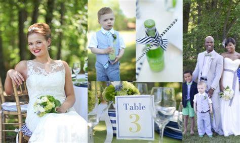 Blue & Green Preppy Wedding Inspiration