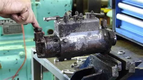 cav injection pump full strip    seal  stop