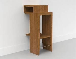 Table De Chevet Wengé : table de chevet suspense multiplis de bouleau ~ Teatrodelosmanantiales.com Idées de Décoration