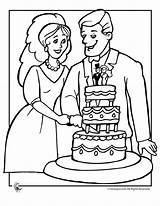 Wedding Coloring Couple Pages Couples Table Print Adult Fantasy 2009 sketch template