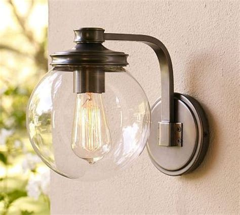 sconce pottery barn outdoor sconces outdoor wall light
