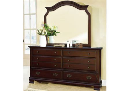 Riverdale King Bed, Dresser With Mirror, Chest, Nightstand & 32