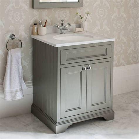Free Standing Bathroom Vanity Ideas by Burlington Olive 650mm Freestanding Vanity Unit With
