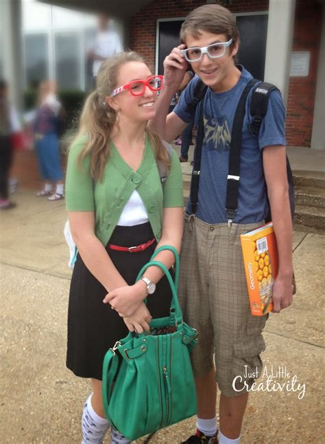 nerd day costume ideas  homecoming week