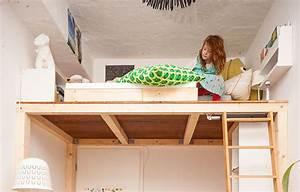 Bett An Der Decke Befestigen : ein hochbett selber bauen diy anleitung butterflyfish ~ Bigdaddyawards.com Haus und Dekorationen