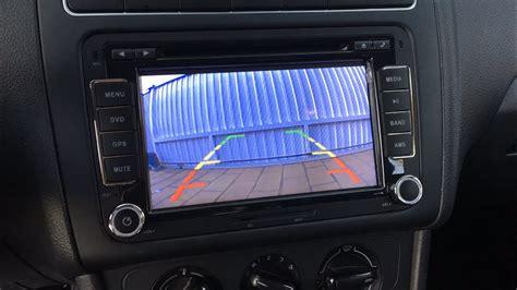 instalar camara de vision trasera volkswagen polo vento