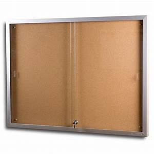 notice display cases With glass document display case