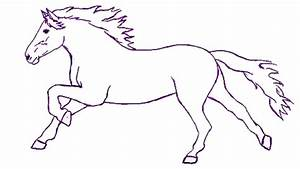 How to Draw a Horse Step by Step | Draw a Horse Easily for ...
