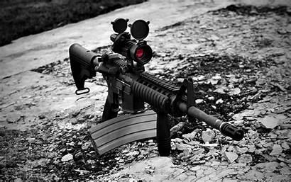 Rifle Assault Gun Wallpapers Rifles Camera Weapons