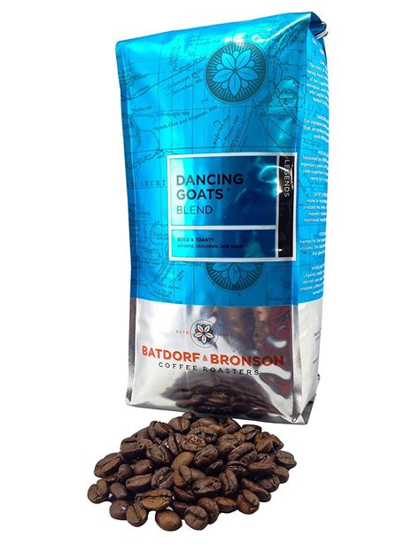 Our house blend is perfect for espresso and drip coffee alike. Amazon.com : Batdorf & Bronson Dancing Goats Blend, Whole Bean Coffee, Decaf, 12-Ounce Bags ...