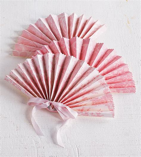 Bhg Kitchen And Bath Ideas - paper fan project for a wedding