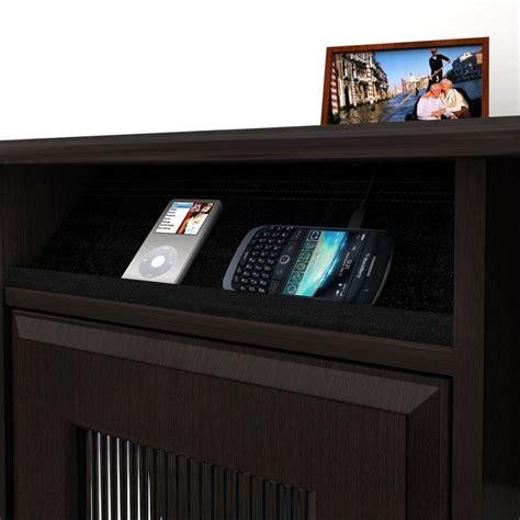 espresso computer desk with hutch bush cabot l shaped computer desk with hutch in espresso
