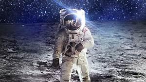 Astronaut On The Moon Wallpaper | Wallpaper Studio 10 ...