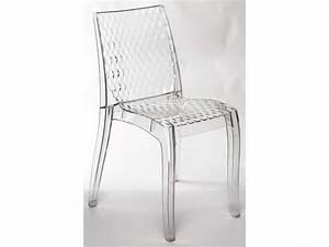 Chaise Transparente Fly : chaise transparente hypnotic vente de confo scoop conforama ~ Teatrodelosmanantiales.com Idées de Décoration