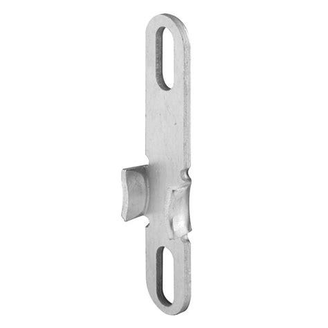 prime  universal aluminum casement window lock keeper    home depot