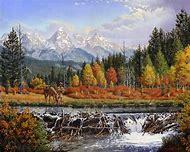 Western Mountain Man Paintings