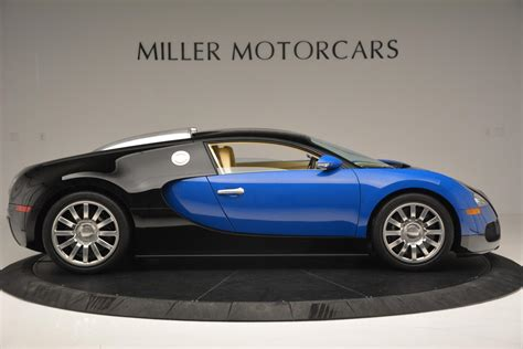 Autoart 70966 1:18 bugatti eb veyron 16.4 pur sang black / aluminium supercar. Pre-Owned 2006 Bugatti Veyron 16.4 For Sale () | Miller Motorcars Stock #6725
