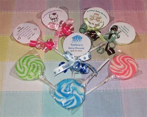 Baby Washcloth Lollipops ♥ Washcloth Candy & Favors