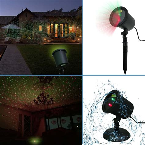 amazon com waterproof red green laser light sparkling