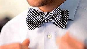 How to Tie a Bow Tie | Men's Fashion - YouTube