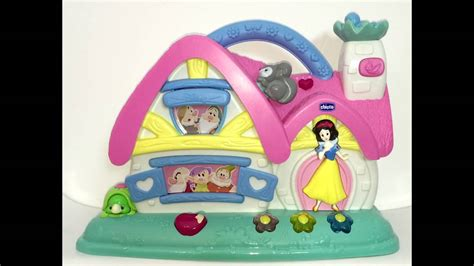 cottage biancaneve musical cottage snow white and the 7 dwarfs chicco