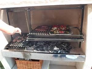 Grille De Barbecue Grande Taille : gaucho taille 3 doubles grilles doubles manivelles ~ Melissatoandfro.com Idées de Décoration